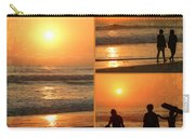 Sunset - Orange Beach Collage Carry-all Pouch