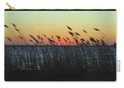 Sunset Colors Island Beach State Park Nj Carry-all Pouch