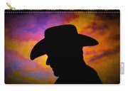Sunset Cowboy Carry-all Pouch