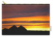 Sunset Death Valley Rectangular Img 0283 Carry-all Pouch