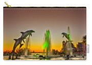 Sunset Dolphins Carry-all Pouch