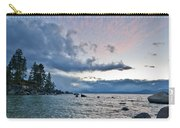 Sunset Drama At Tahoe Carry-all Pouch