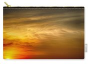Sunset Feather Clouds Carry-all Pouch