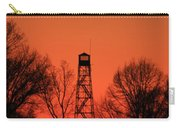 Sunset Fire Tower In Oconee County Carry-all Pouch