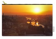 Sunset Florence Carry-all Pouch