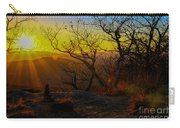 Sunset From Blood Mountain Carry-all Pouch