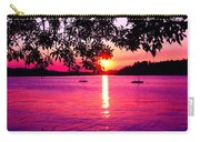 Sunset From Point Fosdick Gig Harbor Washington Carry-all Pouch