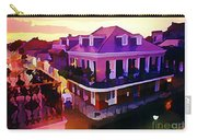 Sunset From The Balcony In The French Quarter Of New Orleans Carry-all Pouch