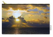 Sunset From The Mumbles Carry-all Pouch