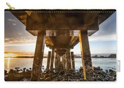 Sunset From Under The Pier Carry-all Pouch