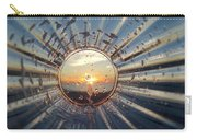 Adelaide Beach Sunset Glass Carry-all Pouch