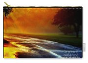 Sunset Glint In The Mist Carry-all Pouch
