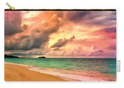 Sunset Glow At Waimanalo Carry-all Pouch