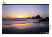 Sunset Gold Big Sur Carry-all Pouch
