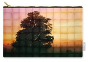 Sunset Grid 2 Carry-all Pouch