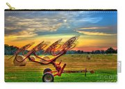 Sunset Hayrake Resting Carry-all Pouch