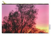 Sunset In April- Silute Lithuania Carry-all Pouch