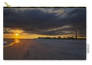 Sunset In Cape May Along The Beach Carry-all Pouch