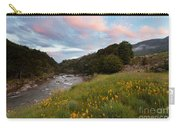 Sunset In Cobb Valley Of Kahurangi Np Of New Zealand Carry-all Pouch