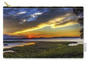 Sunset In Delaware Carry-all Pouch