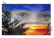 Sunset In My Eyes Carry-all Pouch