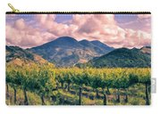 Sunset In Napa Valley Carry-all Pouch