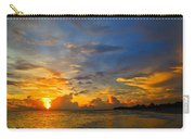 Sunset In Paradise - Beach Photography By Sharon Cummings Carry-all Pouch by Sharon Cummings