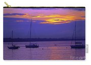 Sunset In Skerries Harbor Carry-all Pouch