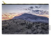 Sunset In The Davis Mountains Carry-all Pouch