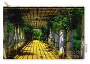 Sunset In The Garden  Carry-all Pouch