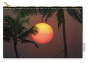 Sunset In The Keys Carry-all Pouch