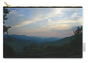 Sunset In The Mountans Carry-all Pouch