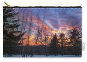 Sunset In The Park Square Carry-all Pouch