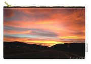Sunset In The Southwest Carry-all Pouch