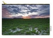 Sunset In The Swamp Carry-all Pouch