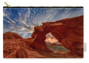 Sunset In The Valley Of Fire Carry-all Pouch