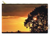 Sunset In The Valley Carry-all Pouch