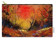 Sunset In The Wood Carry-all Pouch