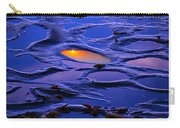 Sunset In Tide Pools Carry-all Pouch