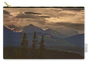 Sunset In Yoho Carry-all Pouch
