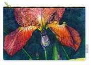 Sunset Iris Carry-all Pouch