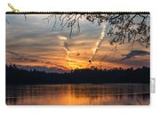 Sunset Lake Horicon Lakehurst New Jersey Carry-all Pouch