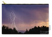 Sunset Lightning Carry-all Pouch