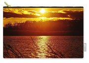 Sunset Love At Crosswinds Carry-all Pouch