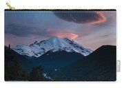 Sunset Mount Rainier Carry-all Pouch