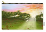 Sunset Of Spring Carry-all Pouch
