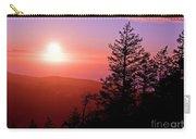 Sunset Off Mt Erie Washington Art Prints Carry-all Pouch