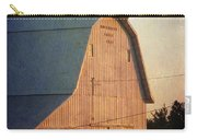 Sunset On A Barn Carry-all Pouch