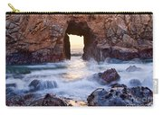Sunset On Arch Rock In Pfeiffer Beach Big Sur California. Carry-all Pouch