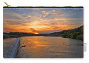 Sunset On Boathouserow Carry-all Pouch